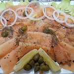 Gravad Lax, Cured Norwegian Salmon