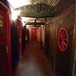 Couloir aux chambres