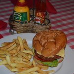 Cheese Burger is the best one I taste in HUrghada