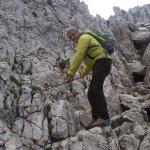 Ludwig Seehauser bei der Tour zum Tschagerjoch