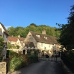 The beautiful Manor House hotel and the gorgeous village of Castle Combe