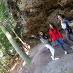 Tour with young small group to Bohemian Switzerland National park