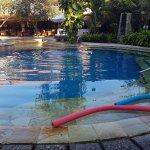 Pool facing breakfast area