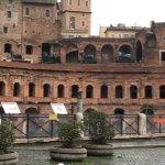 Mercati di Traiano - Museo dei Fori Imperiali - view of the Museo dei Fori Imperiali