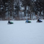 Winter time Snowmobile tours