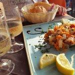 Meeresfrüchtesalat vom Chef empfohlen