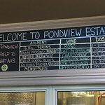 The Pondview staff have a great sense of humour!