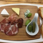 Charcuterie for one at Pondview.