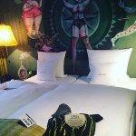 Photo de 25hours Hotel at MuseumsQuartier