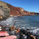 Red Beach, Santorini Greece