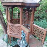 Sit and relax in the Gazebo