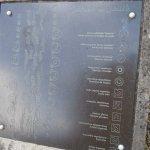 Panneau explicatif du jardin argenté