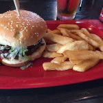 BBQ Burger with Bottomless Fries