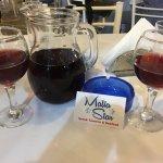 House  wine & starters lovely🍷