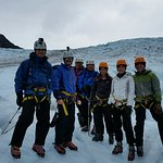 Family Ice Climbing on Exit Glacier