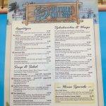 Slasher's menu