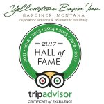 6 Consecutive Years Certificate of Excellence & 2017 Hall of Fame