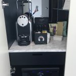 Minibar and coffee machine