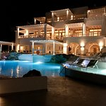 This is the best hotel of Mykonos!  Everything is exclusive.  The food of restaurant is wonderfu
