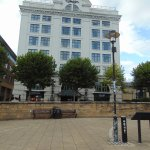 Hotel from the quayside