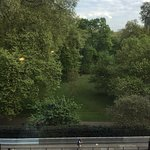 Gorgeous view over Green Park - perfect with your morning coffee!
