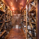 Tellers' impressive wine vault is accompanied by a wine list just as impressive.