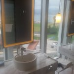 Double Sinks and look at the View!!
