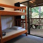Dorm room with verandah