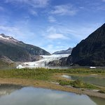 Mendenall Glacier, 10 minute stroll from the Centre