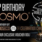 FREE Birthday Gift From COSMO - Prosecco or Cake? - Download Voucher