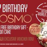 FREE Birthday Cake - Download Voucher