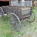 The Old Wooden Wagon from 1770