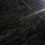 Trip also included a rappelling section!