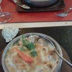 Salmon al roquefort!!