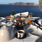 breakfast on private terrace