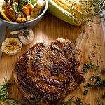 Grilled US Prime Beef Bone-in Ribeye