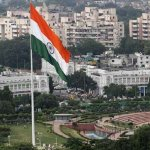 Flag was hosted by the ECI, Just before the Delhi Election on 2014