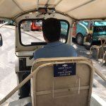 On the hotel's free tuk tuk! (with 2 rows of seats, as compared to the normal 1 row)