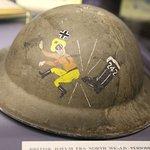 détail d'un casque alié