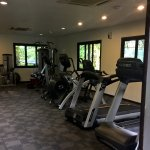 Hotel well equiped gym photos