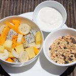 Healthy breakfast options available