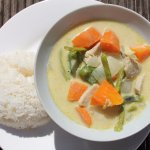 Yummy Thai green curry