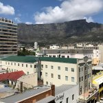 Table Mountain as seen from room 603.