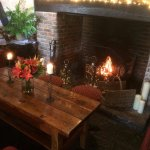 The nights are starting to draw in, get comfy around the fireplace.