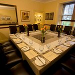 Dining Room, set for a private party of 16