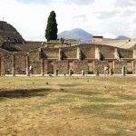 The Gladiator's practice yard Pompeii