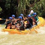 rafting down the Savegre River
