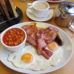 Full English Breakfast at Billy's on the Road (09/Sept/17).