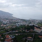 View of Funchal to the ocean