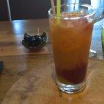 Cocktail de fruits offert
